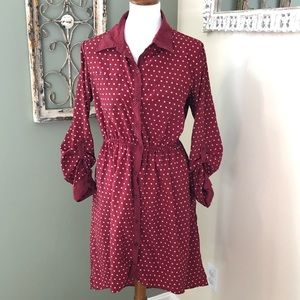 HiLow polka Dot Dress